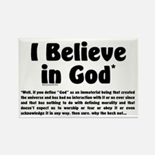 Believer Rectangle Magnet (10 pack)