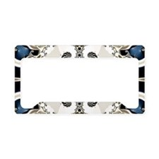 Osteodiplopada Pattern License Plate Holder