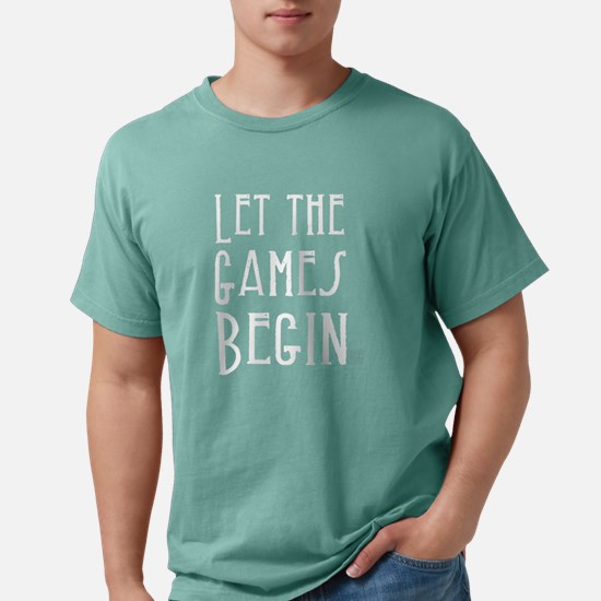 Let the Games Begin (white text) T-Shirt
