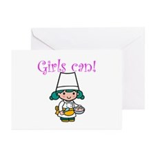 Girl Chef Greeting Cards (Pk of 10)