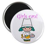 Girl Chef Magnet