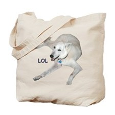 LOL Dog Tote Bag