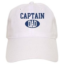 Baseball Captain dad Baseball Cap