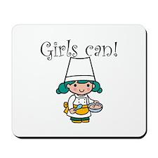Girl Chef Mousepad