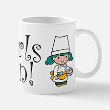 Girl Chef Mug