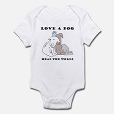 Love a Dog Infant Bodysuit