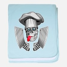 Chef Skull Butcher baby blanket