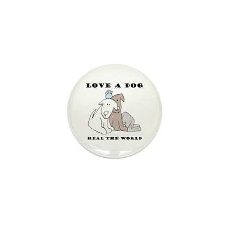 Love a Dog Mini Button