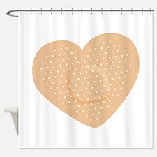 Heart Bandage Shower Curtain