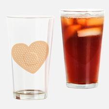 Heart Bandage Drinking Glass