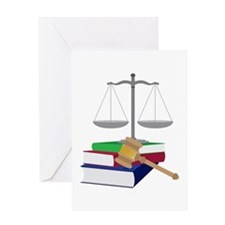 Lawyer Symbols Greeting Cards