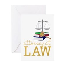 Attorney At Law Greeting Cards