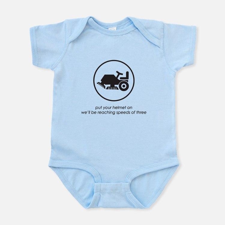 Put Your Helmet On Infant Bodysuit