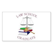 Law School Graduate Decal