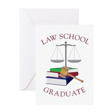 Law School Graduate Greeting Cards