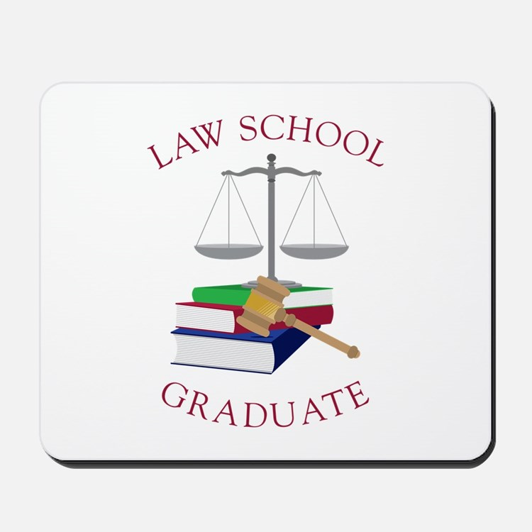 Law School Graduate Mousepad