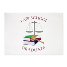 Law School Graduate 5'x7'Area Rug
