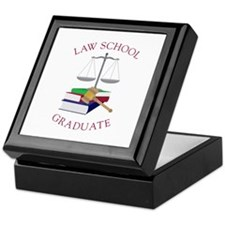 Law School Graduate Keepsake Box