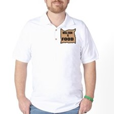 Will Run 4 Food T-Shirt