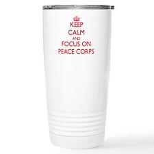 Unique Peace corps Travel Mug