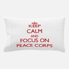 Cute Peace corps Pillow Case