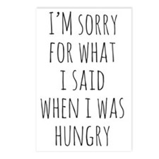 I'm Sorry For What I Said Postcards (Package of 8)