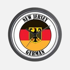 New Jersey German Wall Clock