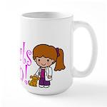 Girl Veterinarian Large Mug