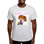 Girl Veterinarian Light T-Shirt