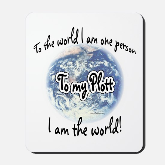 Plott World2 Mousepad