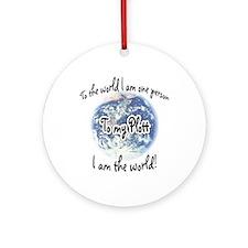 Plott World2 Ornament (Round)