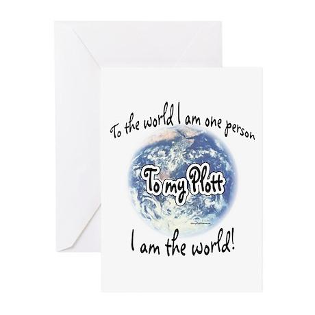 Plott World2 Greeting Cards (Pk of 10)