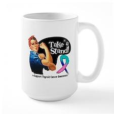 Thyroid Cancer Take a Stand Mugs