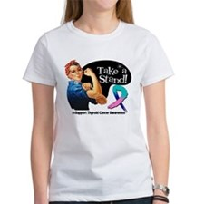 Thyroid Cancer Take a Stand T-Shirt