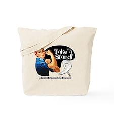 Retinoblastoma Take a Stand Tote Bag
