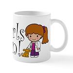 Girl Veterinarian Mug