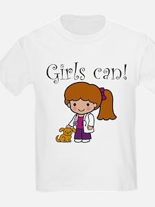 Girl Veterinarian T-Shirt
