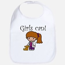 Girl Veterinarian Bib