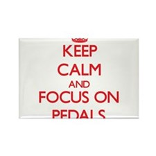 Keep Calm and focus on Pedals Magnets