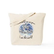 Husky World2 Tote Bag
