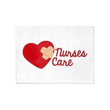 Nurses Care 5'x7'Area Rug