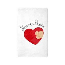 Nurse Mom 3'x5' Area Rug