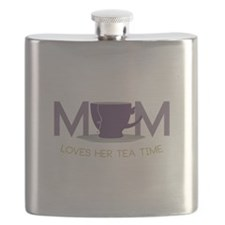 Mom Loves Her Tea Time Flask