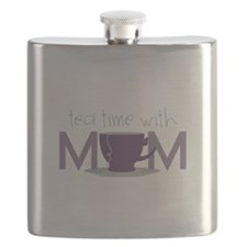 Tea Time With Mom Flask