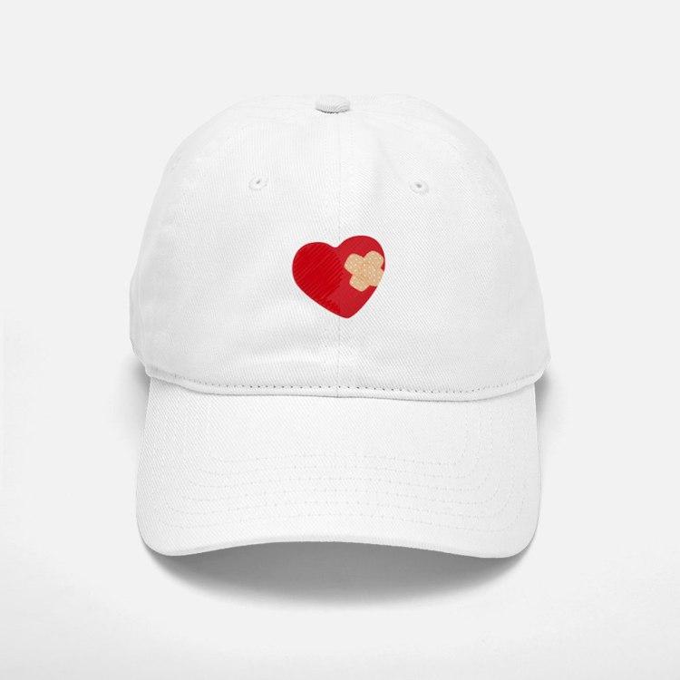 Heart Bandage Baseball Baseball Baseball Cap