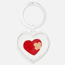 Heart Bandage Keychains