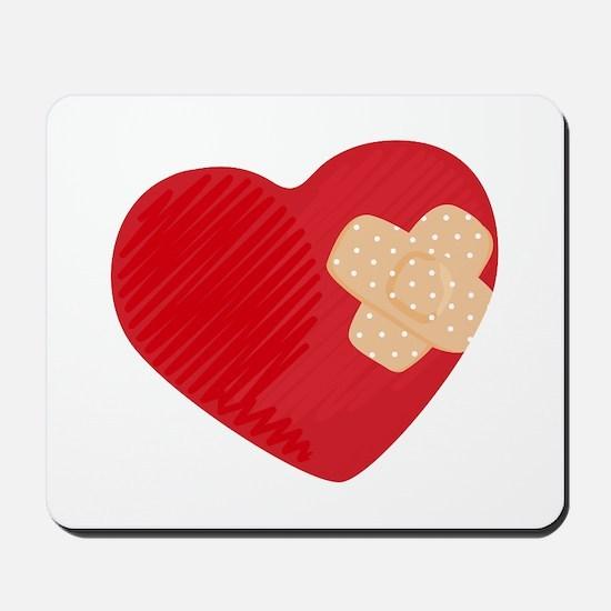 Heart Bandage Mousepad