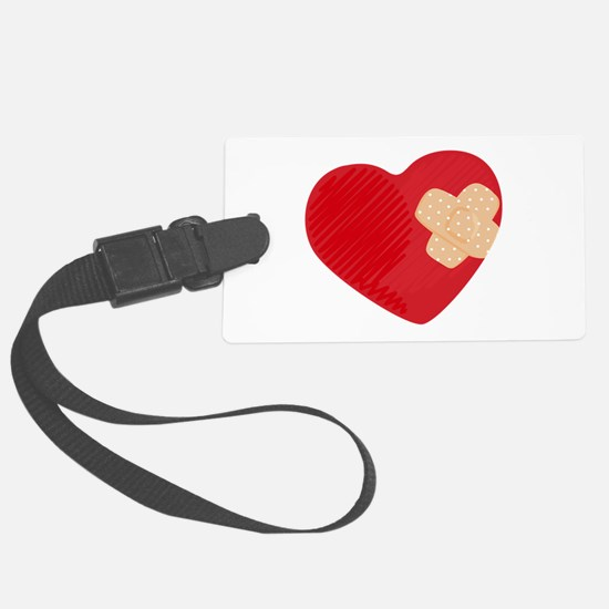 Heart Bandage Luggage Tag