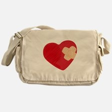 Heart Bandage Messenger Bag