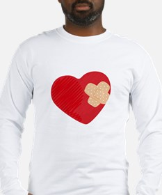 Heart Bandage Long Sleeve T-Shirt